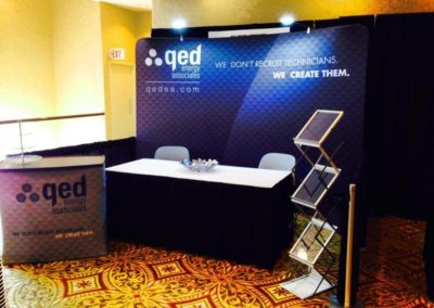 QED Energy Associates Tradeshow Booth
